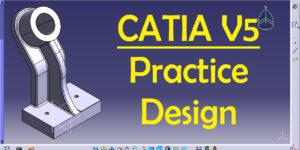 CATIA PRACTICE DESIGN 12