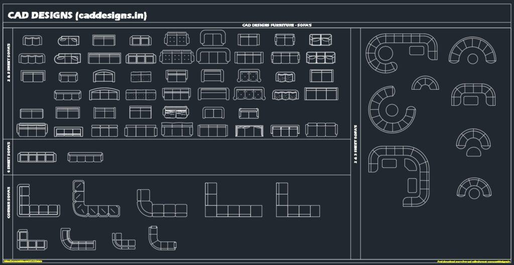 AutoCAD-Blocks-furniture_Sofa-Sets-www.caddesigns.in_